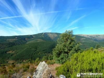 Pico Santuy; El Cerrón; rio eresma nordic walking; viajes de grupos